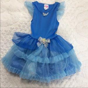 Disney Blue Kids Dress Up Size 4-6